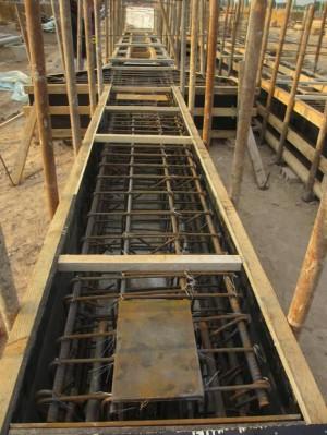 排架钢模板